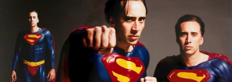 Filmy, ktoré nikdy nevznikli: Nicolas Cage sa takmer stal Supermanom v réžii Tima Burtona