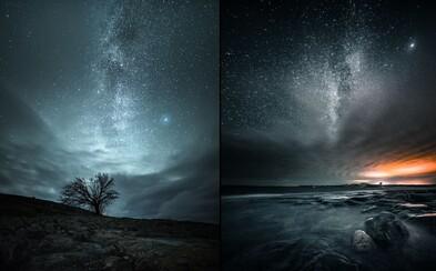 Fínske lesy a ich magická atmosféra plná hviezd, polárnej žiary a hlbokého pohľadu do vesmíru