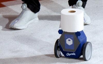 Firma ukázala senzor, ktorý varuje pred zápachom na tvojom WC a robota nosiaceho toaletný papier