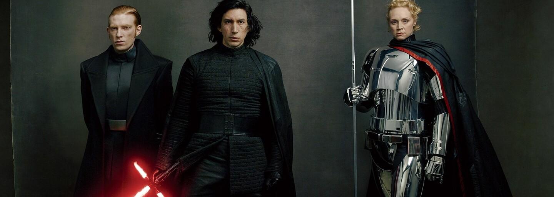 First Order zatopí v The Last Jedi odboju novými a smrteľnými strojmi. Dostali sme aj nové obrázky hlavných hrdinov a záporákov