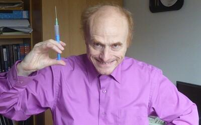 Flegr naznačuje, že se Klaus mohl nechat očkovat. Institut Václava Klause to popírá