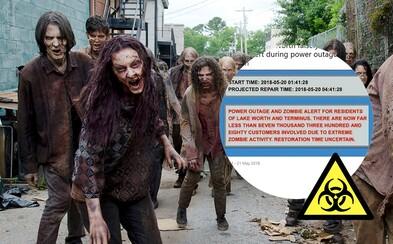Floridské mesto pri nočnom výpade prúdu omylom varovalo občanov pred extrémnym návalom zombíkov. Niektorí z nich sa poriadne vydesili