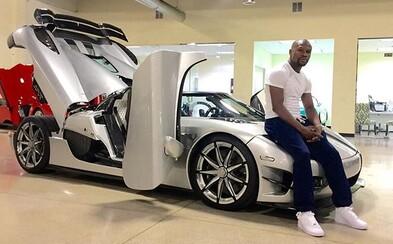 Floyd Mayweather si opět dopřál, tentokrát se pyšní jedinečným Koenigseggem za téměř 5 milionů dolarů