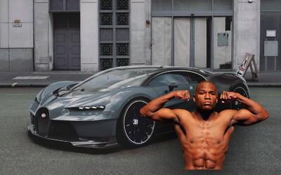 Floyd Mayweather si predobjednal stále neodhalené Bugatti Chiron za 3,5 milióna $