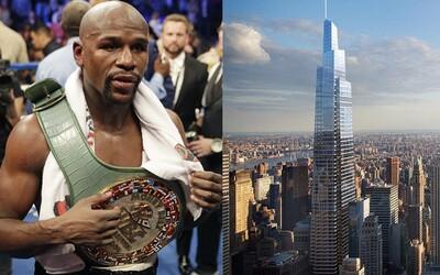 Floyd Mayweather vraj už bojovať nebude. Najnovšie buduje mrakodrap v New Yorku, kam plánuje umiestniť vyhliadkovú plošinu