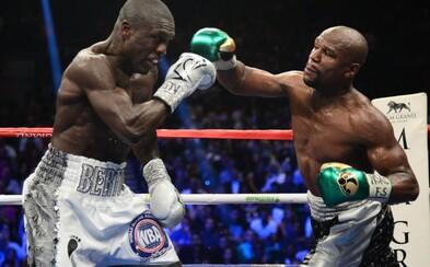 Floyd Mayweather vyhrál svůj poslední zápas kariéry a odchází ze světa boxu jako neporažený!