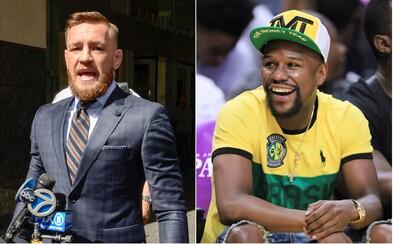 Floyd pozval McGregora do svojho gymu na tréning. Fuck the Mayweathers, odkázal írsky búrlivák