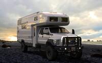 Ford F-650 EarthRoamer XV-HD: Luxusní karavan do extrémních podmínek za milion dolarů!