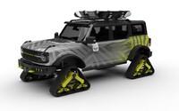 Ford na tohtoročnom veľtrhu SEMA predvedie 4 vyšperkované modely slávneho Bronca. Ukáže aj verziu s pásmi