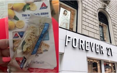 Forever 21 čelí škandálu kvôli body-shamingu. Značka rozdávala k objednávkam tyčinky na chudnutie zdarma