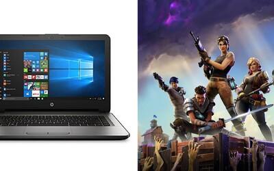 Fortnite dá zabrať aj počítaču za tisíce, ale čo tak notebook za 320 eur?
