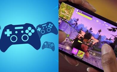 Fortnite na mobilu s novým patchem dostává možnost hrát s Bluetooth ovladačem