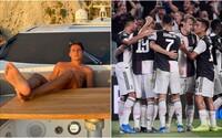 Fotbalisté Juventusu v době pandemie zorganizovali ilegální party s desítkami lidí. Toto je jejich trest