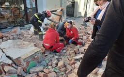 Foto a video: Silné zemětřesení ničilo v Chorvatsku budovy