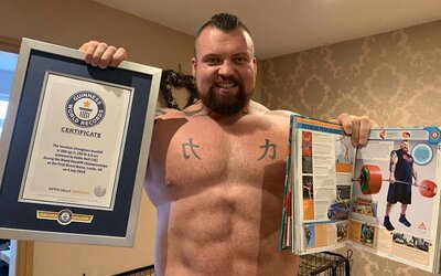 FOTO: Eddie Hall před zápasem s Horou z GOT zhubl přes 40 kilo. Je přesvědčen, že soupeře knokautuje