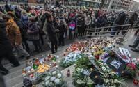 FOTO: Slováci ignorujú prísny lockdown, Lučanského si v Bratislave uctili davy ľudí