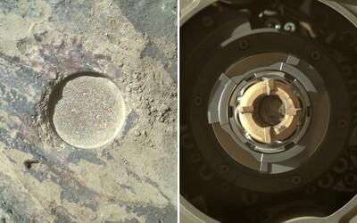 FOTO: Takto vyzerá kameň z Marsu zvnútra. NASA ukázala fotky z rovera Perseverance, ktorý na červenej planéte hľadá známky života