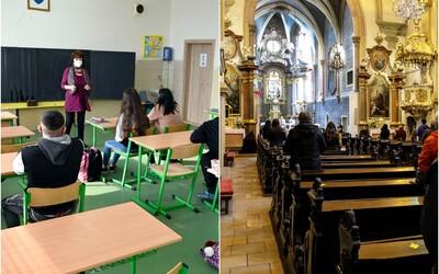 FOTOGALÉRIA: Takto vyzerá návrat do normálu na Slovensku po lockdowne. Otvorili obchody, školy aj kostoly
