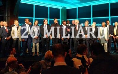 Fotografia so 120 miliardami eur. Buffett aj Diddy oslavovali 100. výročie časopisu Forbes vo veľkom štýle