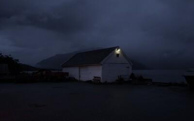 Fotografie posledného svetla noci