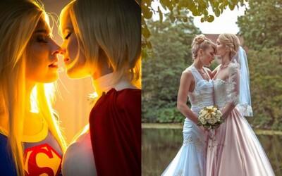 Fotografie ze svatby dvou nádherných cosplayerek tě přesvědčí, že láska je krásná v jakékoliv formě