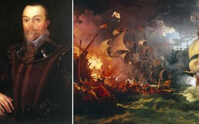 Francis Drake bol pirát, ktorý sa domov vrátil ako hrdina. Oboplával celý svet a znepríjemňoval život španielskym lodiam