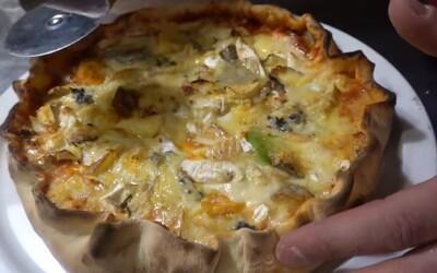 Francouz upekl pizzu s 257 různými druhy sýra. Překonal tak předchozí světový rekord