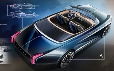 Francouzský designér naznačil, jak by vypadal slavný kabriolet Škoda Felicia v moderní interpretaci