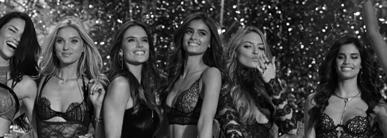 Francouzský módní dům Balmain zveřejnil první záběry z nadcházející spolupráce s Victoria's Secret