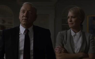 Frank Underwood je v prvom traileri 5. série House of Cards pripravený viesť USA, krajinu plnú oviec, ktoré potrebujú svojho pastiera