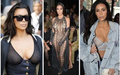 Free The Nipple: Kim Kardashian svými posledními outfity ukazuje, že by odhalené ženské poprsí nemělo být tabu
