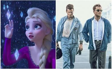Frozen 2 ovládlo kiná po celom svete s tržbami 350 miliónov dolárov. Ford vs Ferrari prekonal hranicu 100 miliónov (Box Office)