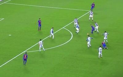 Futbalový orgazmus v podaní Messiho. Argentínsky klenot opäť ukázal, že po individuálnej stránke je o level nad ostatnými