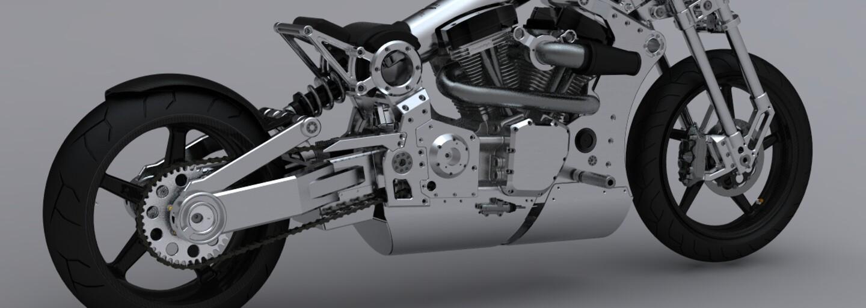 Futuristická luxusní motorka, které bude vyrobeno pouhých 61 kusů
