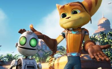 Galaktický animák Ratchet & Clank dorazil na naše obrazovky v nových obrázkoch