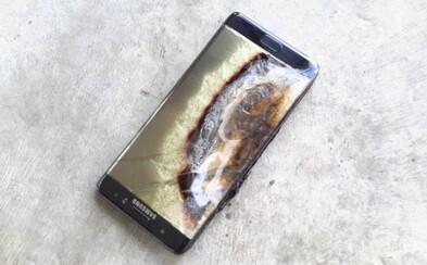 Galaxy Note 7 se opět zmítá v problémech. Vyměněné kusy vybuchují i nadále