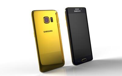 Galaxy S6 a S6 edge budú dostupné aj v 24 karátovom zlate. Ceny začínajú od 2 400 eur