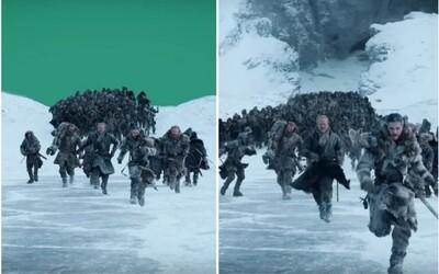Game of Thrones očima CGI: Jon Snow utíkal před zeleným plátnem a Daenerys jezdila na trenažéru