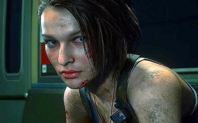 Gameplay Resident Evil 3 zobrazuje krvelačného Nemesise a hordu zombíků. Ukázky ze hry nadchnou všechny fanoušky série