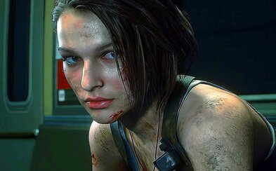 Gameplay Resident Evil 3 zobrazuje krvilačného Nemesisa a hordu zombíkov
