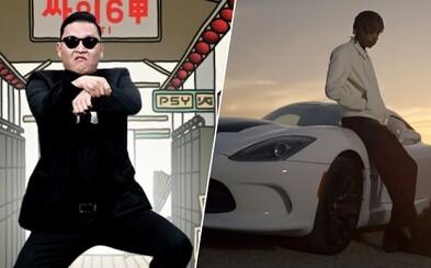 Gangnam style stratil prvenstvo v počte zhliadnutí na YouTube. Prekonala ho emotívna pieseň od Wiza Khalifu