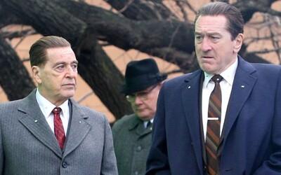 Gangsterka Irishman má nakročeno stát se nejdražším filmem, který kdy Martin Scorsese natočil