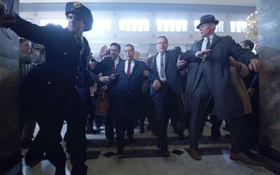 Gangsterka The Irishman bude s 3 a pol hodinami najdlhším filmom Martina Scorseseho