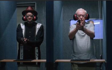 Gangstri-dôchodcovia v podaní Morgana Freemana a Michaela Cainea vyrážajú vylúpiť banku v akciou a humorom nabitom traileri novej komédie