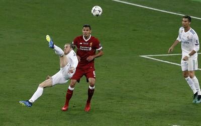 Gareth Bale strelil vo finále jeden z najkrajších gólov histórie Ligy majstrov