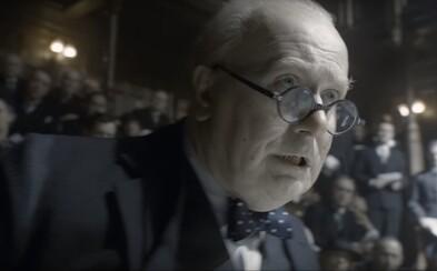 Gary Oldman je Winston Churchill! Najnovší trailer pre dráma Najtemnejšia hodina ukazuje vzostup a boj Churchilla proti Hitlerovi