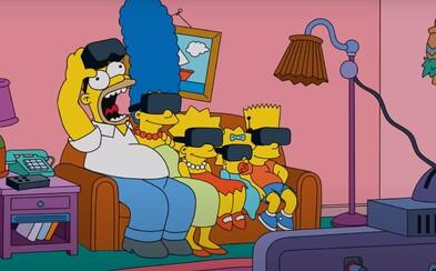 Gaučová scénka zo Simpsonovcov vo virtuálnej realite? Tvorcovia prišli s ďalším originálnym nápadom