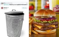 Geniální zaměstnanec amerického fastfoodu si na Twitteru dělá srandu ze zákazníků i konkurence. Na požádání je i zesměšňuje