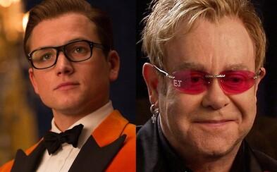 Geniálny spevák a skladateľ Elton John dostane vlastný film. Stvárni ho Taron Egerton zo série Kingsman