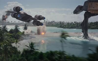 Geniálny trailer pre Rogue One v znamení Dartha Vadera, mohutných vesmírnych lodí a pocitu veľkolepého vojnového sci-fi filmu